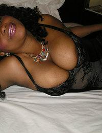 dark pores on a black woman's legs porn pics